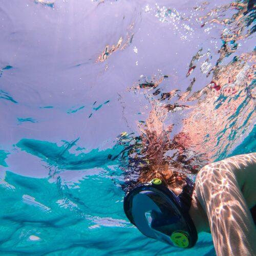 sSnorkeling finca vela lodge